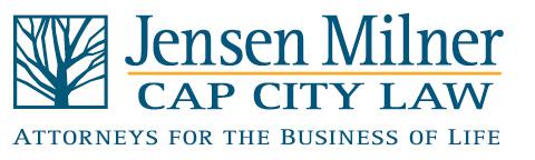 Jensen Milner   Cap City Law Logo
